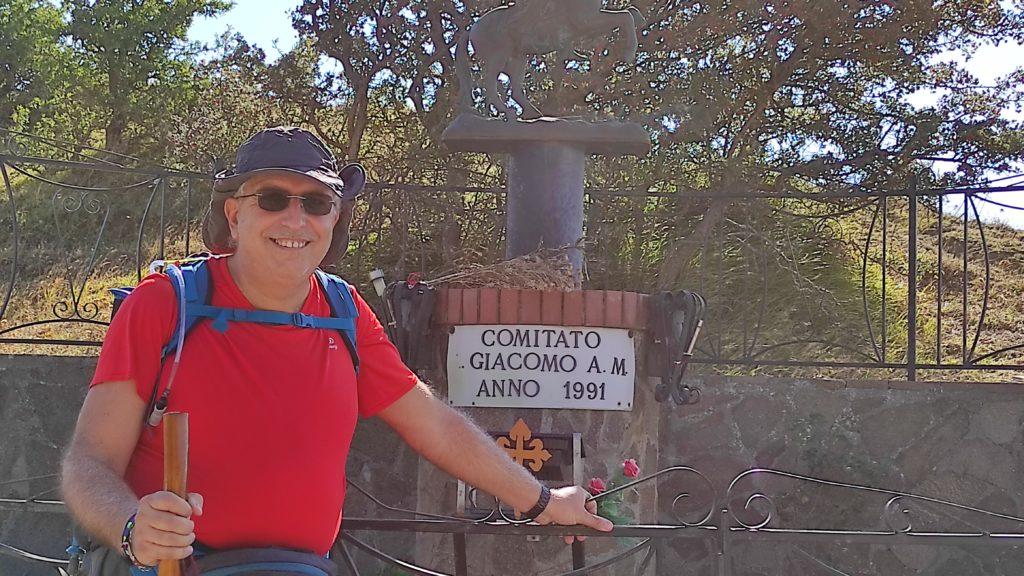 Alla statua di Santiago matamoros
